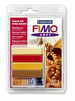 """Полимерная глина Фимо FIMO Soft набор для создания украшения """"Бабье лето"""""""
