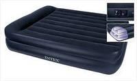 Кровать Intex 66720 - надувная двуспальная кровать размером 152 х 203 х 47 см.