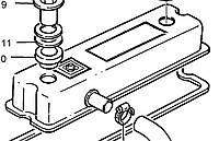 Клапанная крышка 4142X053 Perkins, Перкинс, Перкінс, Запчасти Перкинс, Запчасти Perkins, ремонт Перкинс, двигатели Perkins