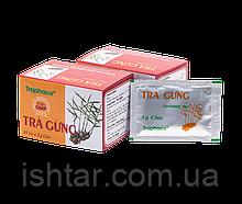 Имбирный чай Tra Gung с антиоксидантами и аминокислотами  (10шт.х3г)