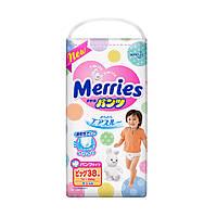 Подгузники - трусики Merries Big (12-22 кг) 38 шт