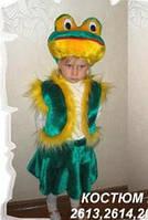 Карнавальный костюм Лягушка девочка меховой 5-8 лет