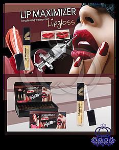 """Блеск для увеличения обьёма губ Lip Maximizer """"Инъекция красоты"""" поштучно"""