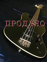 Бас-гитара Fender Aerodyne jazz bass black Japan
