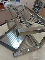 Сушка навісна для склянок і тарілок 800х300х300