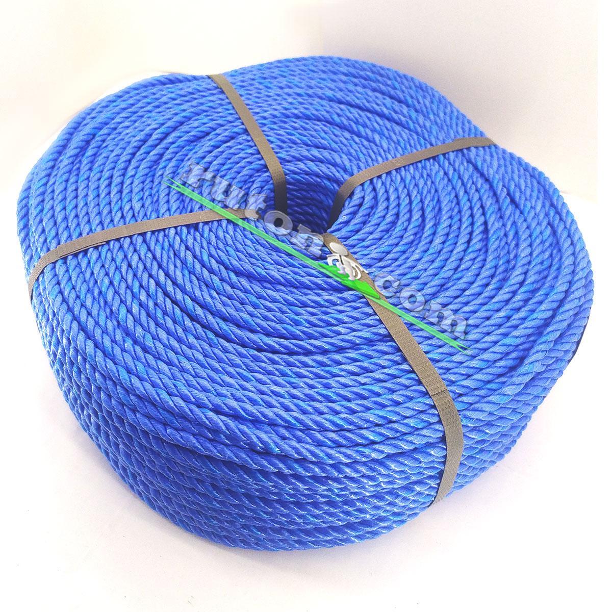 Мотузка рибальська кручена 4,0 мм 200 м для снастей
