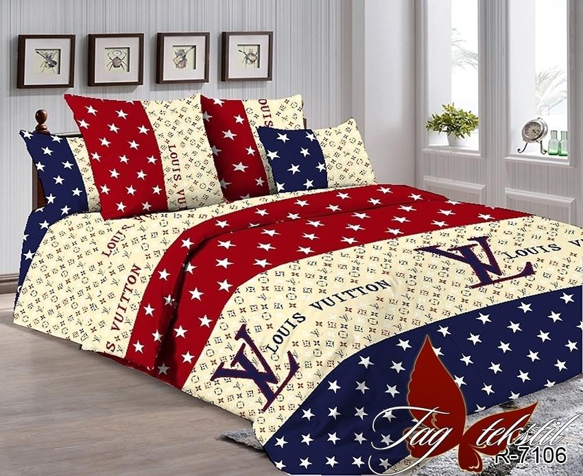 Двуспальный комплект постельного белья со звездами, Ранфорс