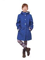 Пальто для девочки   кашемир  м-1019 рост 104-146