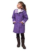 """Пальто для девочки   кашемир  м-1019 рост 104 110 116  122 и 128 тм """"Попелюшка"""", фото 1"""