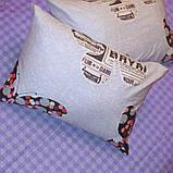 Двуспальный комплект постельного белья с бабочками, Сатин-люкс, фото 4
