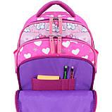 Рюкзак школьный Bagland Mouse 143 малиновый 686 (00513702), фото 5
