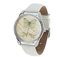 """Часы наручные """"Бабочка"""" разные цвета Белый"""