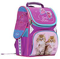 """Ранець """"Class"""" 9801 """"Lovely Kitties"""",2 відд.,34*27*14см,300D PL, шт"""