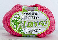 Lanoso Alpacana Super Fine ярко-розовый № 933