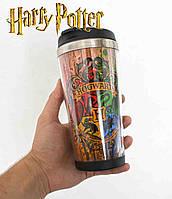 "Термостакан  Гарри Поттер ""Факультеты Хогвартса"" / Harry Potter"