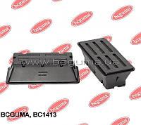 Подушка нижняя левая, двухлистовой рессоры метал.MB Sprinter / VW LT 96- BCGUMA- Украина - BC1413