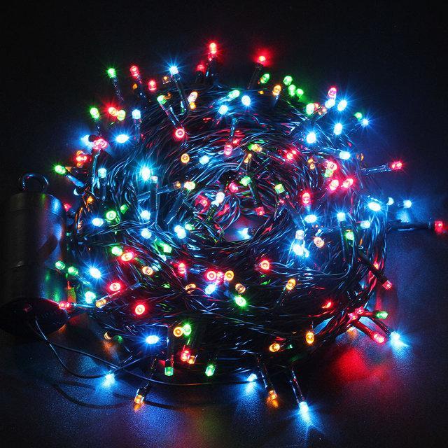Xmas Нить 100 ламп МУЛЬТИК (3метра)