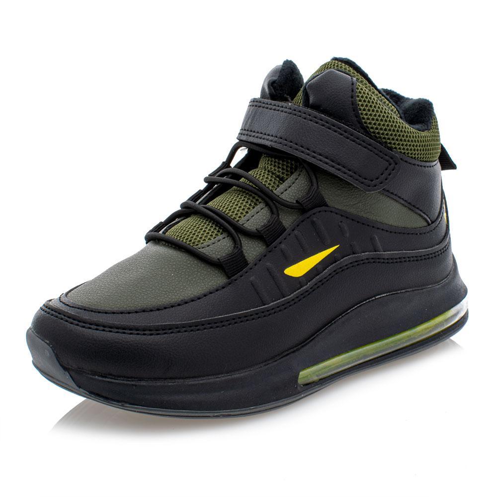 Ботинки для мальчиков Jong golf 33  хаки 981165