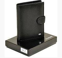Функциональное кожаное мужское портмоне Dr.Bond BM1020 black, фото 1