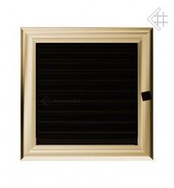 Вентиляционная решетка для камина KRATKI Oskar 22х22 см с жалюзи