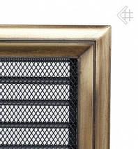 Вентиляционная решетка для камина KRATKI Oskar 22х22 см с жалюзи, фото 2
