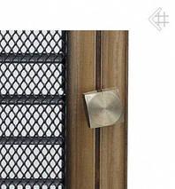 Вентиляционная решетка для камина KRATKI Oskar 22х22 см с жалюзи, фото 3