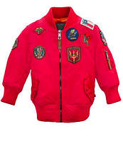 Дитячий бомбер Top Gun Kids MA-1 Aviator Bomber TGKMA-1 (Red)