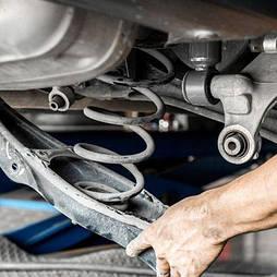 Ремонт подвески легкового автомобиля