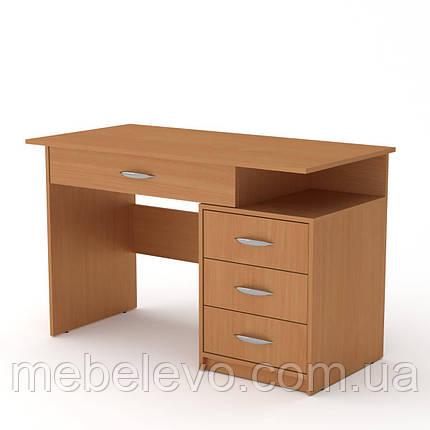 Стол письменный Студент-2 750х1200х600мм    Компанит, фото 2