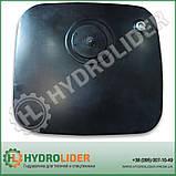 Гидробак боковой 155 л стальной (распред - сбоку), фото 2