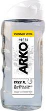 Arko Men гель для душа и шампунь 2в1 Crystal 260 мл