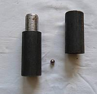 Петля точеная приварная диаметр 40мм для ворот, фото 1