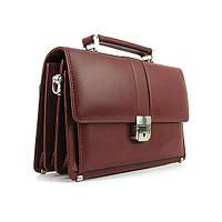 Мужская кожаная коричневая барсетка Bond 1087-3 сумка из натуральной кожи, фото 1