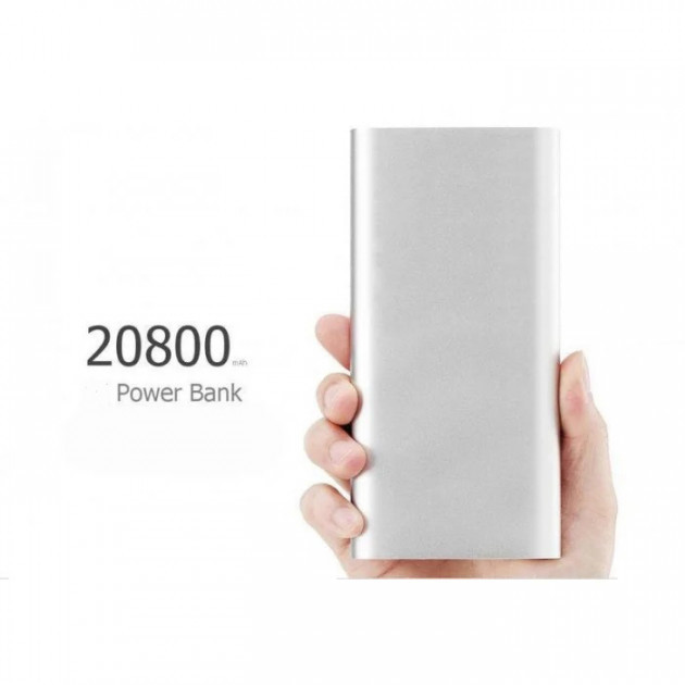 Портативное зарядное устройство Power Bank 20800mAh, универсальная батарея, внешний аккумулятор, повер банк