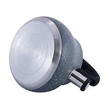 Чайник Kamille Серый 2,7л из нержавеющей стали со свистком и нейлоновой ручкой KM-1091, фото 3