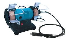 Точильно-шлифовальный станок с гравером Kraissmann 120 SSG 75 (с регулятором оборотов)