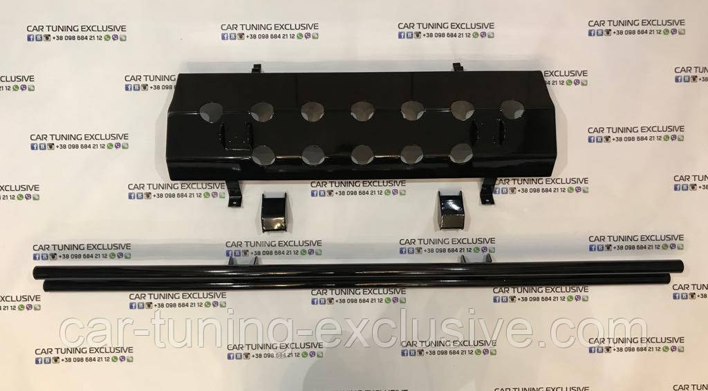Fuel tank protection for Mercedes G-class 4x4²