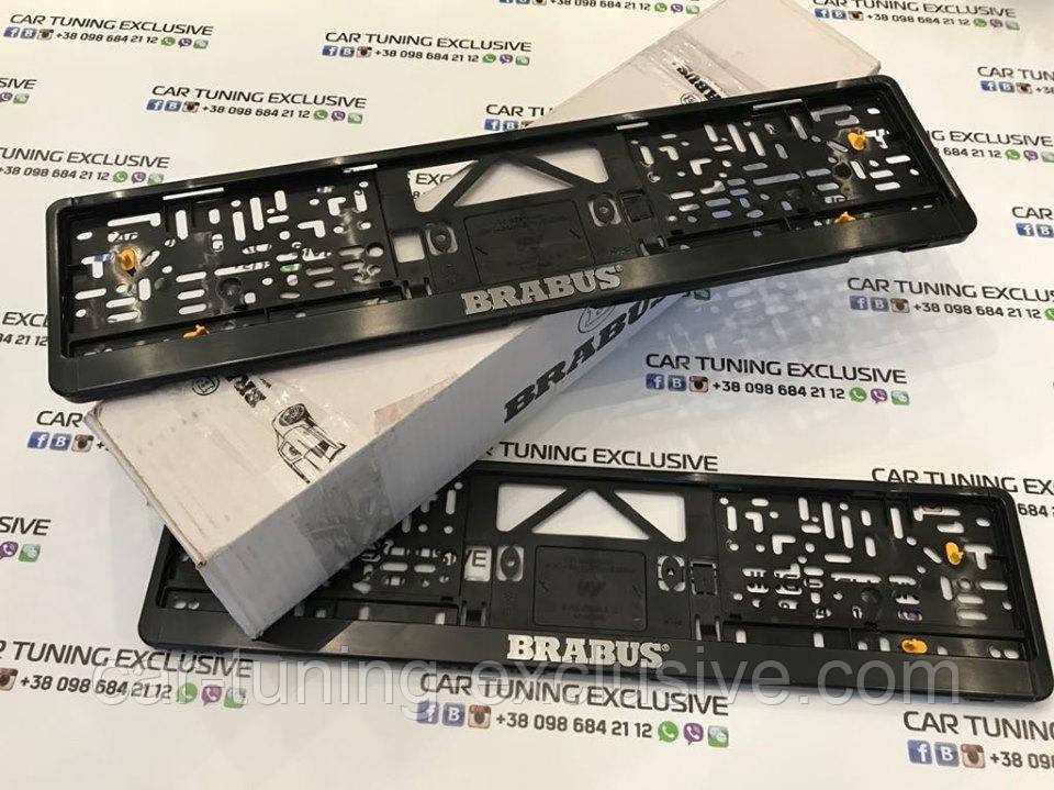 BRABUS number frame for Mercedes G-class 4x4²