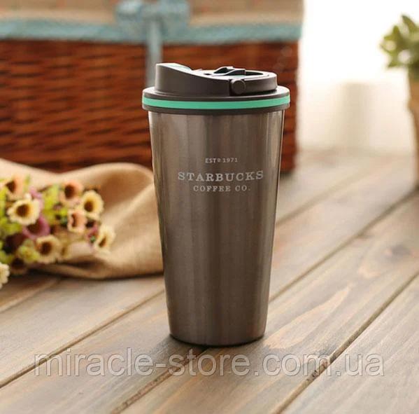 Термокружка термочашку термос для напоїв Starbucks 500 мл