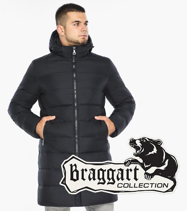 Braggart Aggressive 42110 | Зимняя куртка мужская темно-синяя