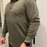 Кофта Поло с длинным рукавом (утепленная), фото 2