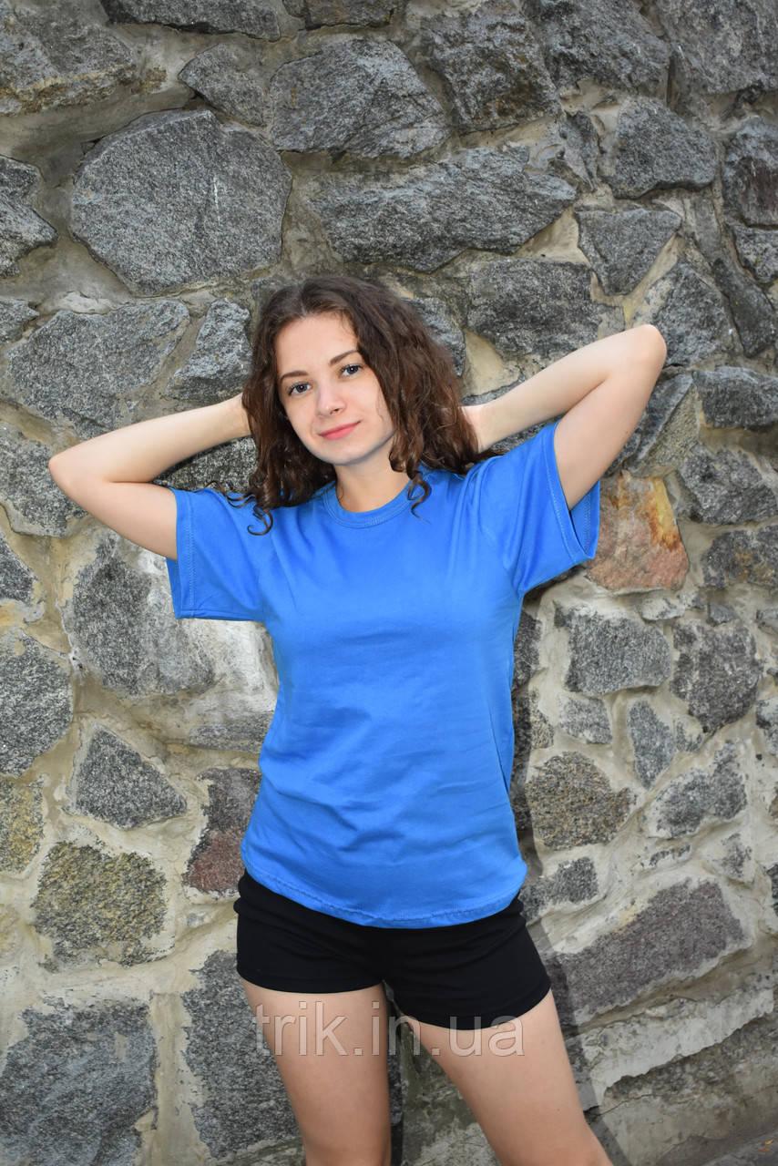 Голубая футболка для подростков