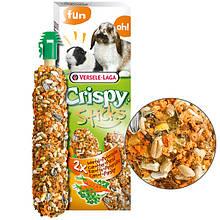 Ласощі з морквою і петрушкою Versele-Laga Crispy Sticks Milk&Parsley для кроликів і морських свинок 2 шт.