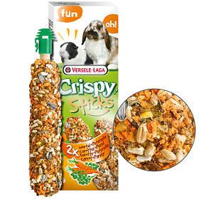 Лакомство с морковью и петрушкой Versele-Laga Crispy Sticks Carrot&Parsley для кроликов и морских свинок 2 шт.