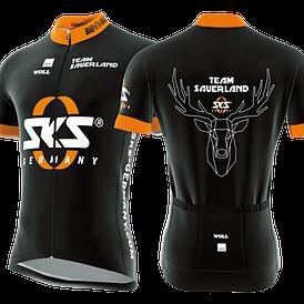 Велоджерсі SKS Team Sauerland M Black