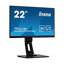 """Монитор Iiyama 21.5"""" XUB2294HSU-B1 VA Black; 1920x1200, 4 мс, 250 кд/м2, DisplayPort, HDMI, D-Sub, 2хUSB2.0,, фото 3"""