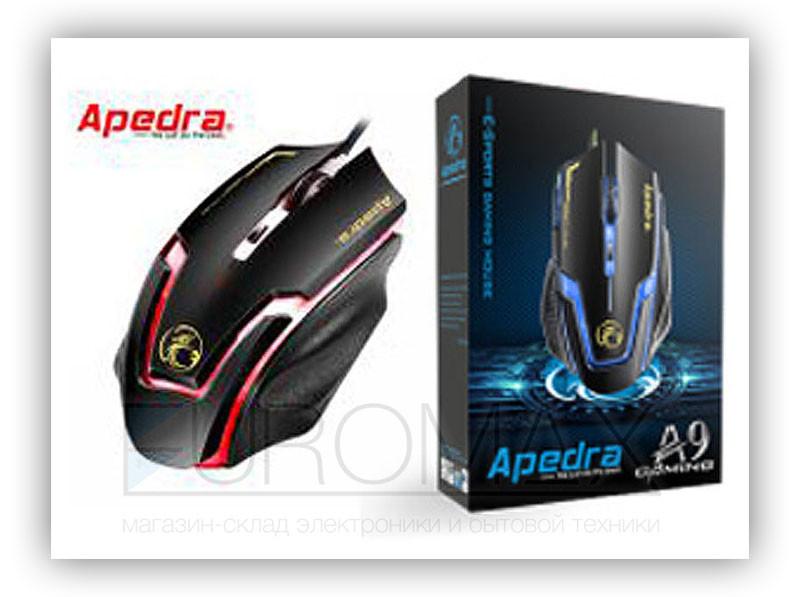 Компьютерная мышь проводная игровая Apedra 40шт A9