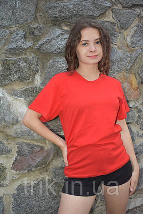 Красная подростковая футболка, фото 2