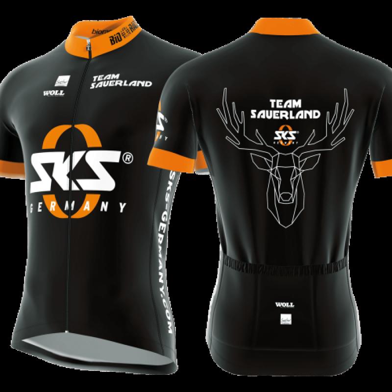 Велоджерсі SKS Team Sauerland XXL Black