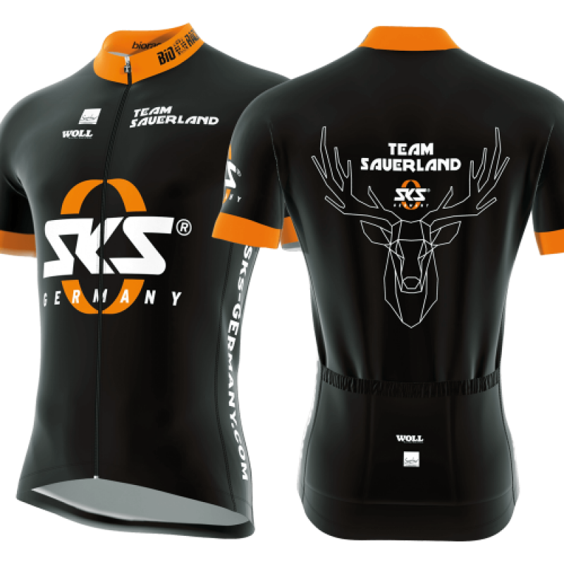 Велоджерсі SKS Team Sauerland XXL Black, фото 2